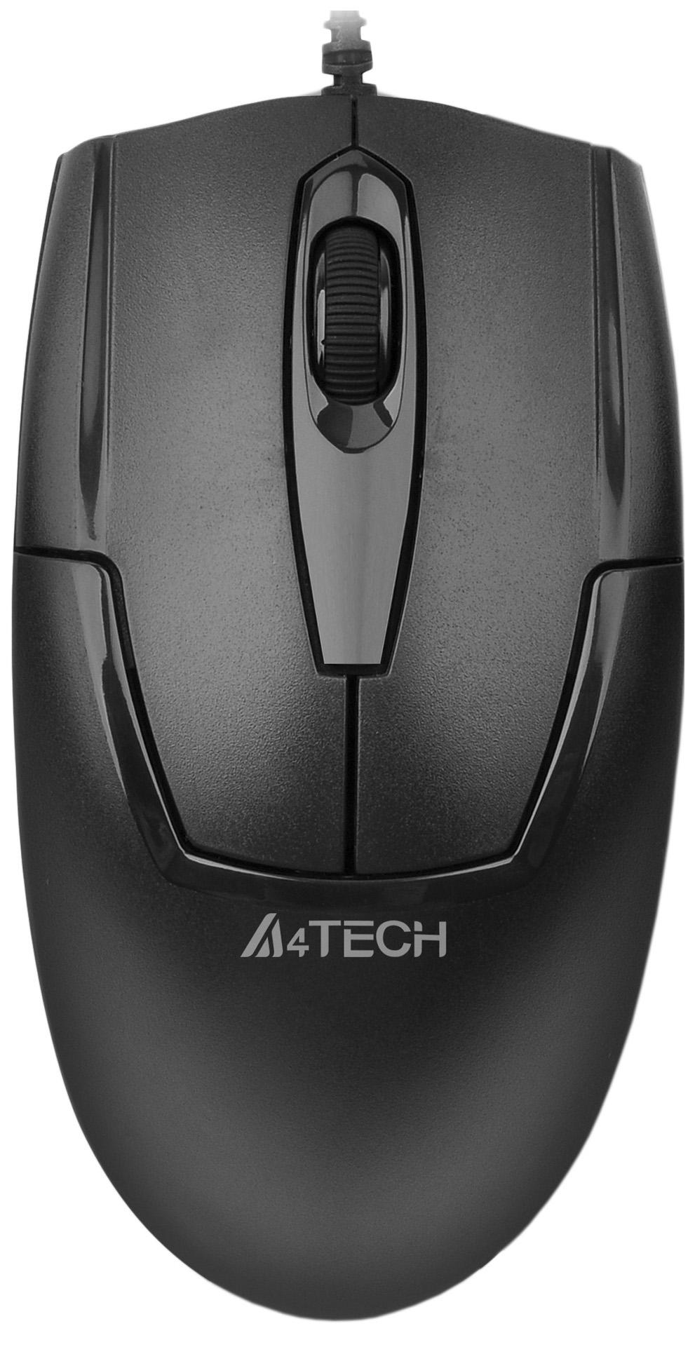 Проводная мышка A4Tech V-Track Padless OP-540NU Black