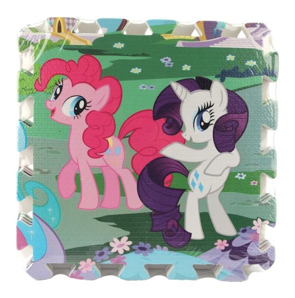 Купить Мой маленьки пони, Коврик-пазл играем вместе my little pony 8 элем., Играем Вместе, Пазлы