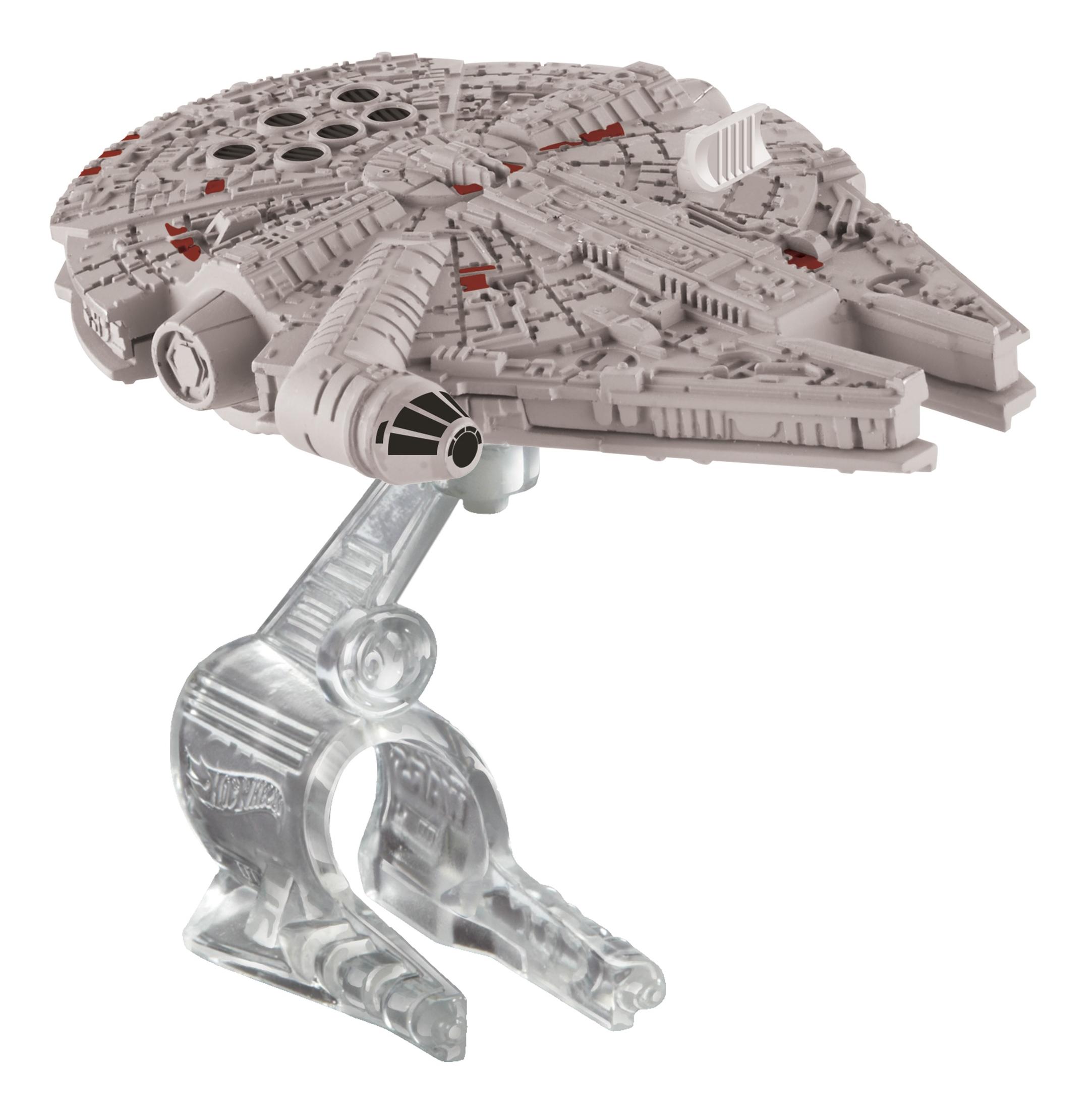 Купить Millennium Falcon Starship, Истребитель Hot Wheels Звездолёты серии Звёздные войны CGW52 CKJ66, Воздушный транспорт