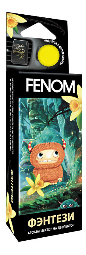 Автомобильный ароматизатор FENOM FN516