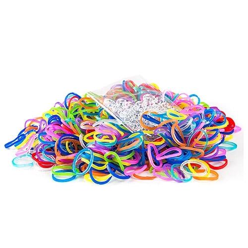 Набор для плетения Rainbow Loom Резинки Микс Гелевый
