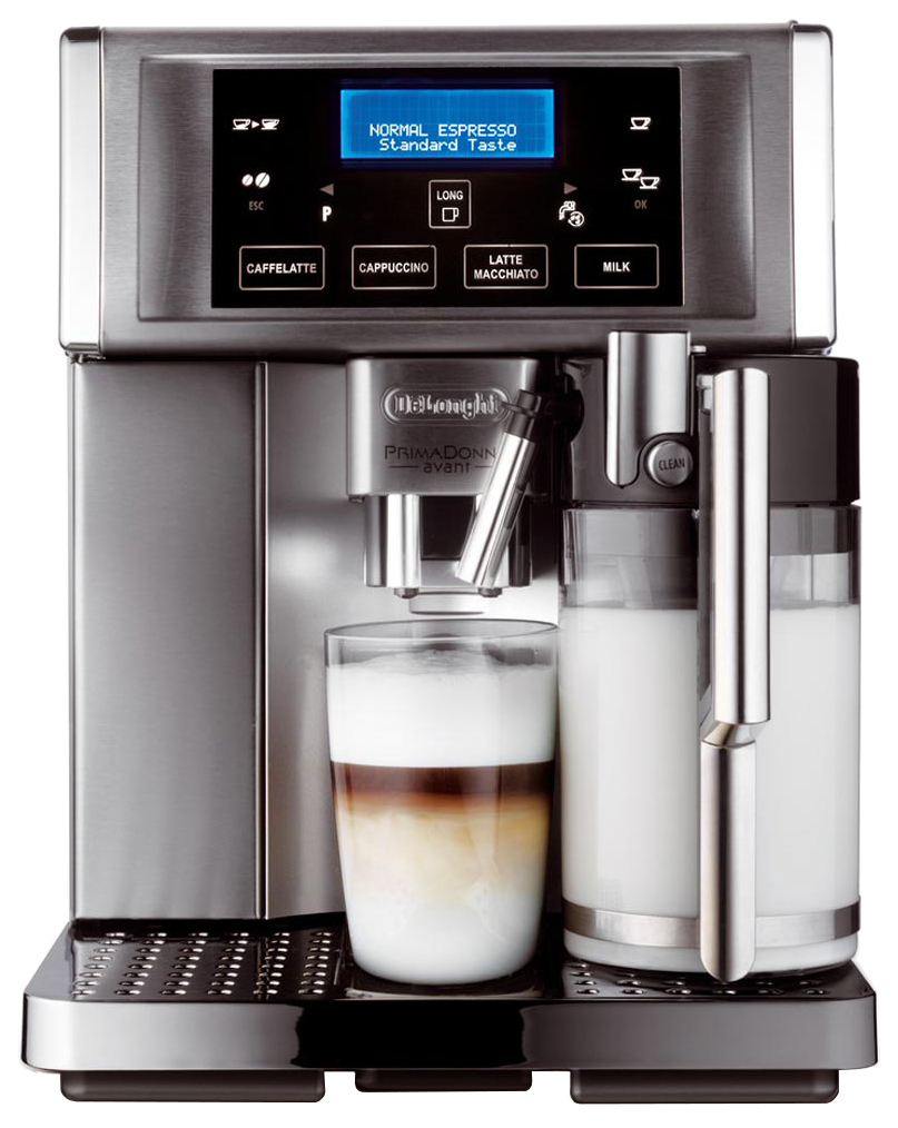 Кофемашина автоматическая DeLonghi PrimaDonna Avant ESAM 6704 Silver/Black фото