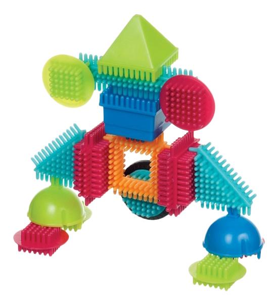 Конструктор Bristle Blocks Игольчатый 56 дет,
