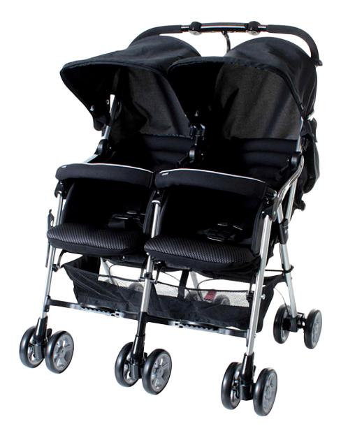 Прогулочная коляска Combi для двойни Spazio