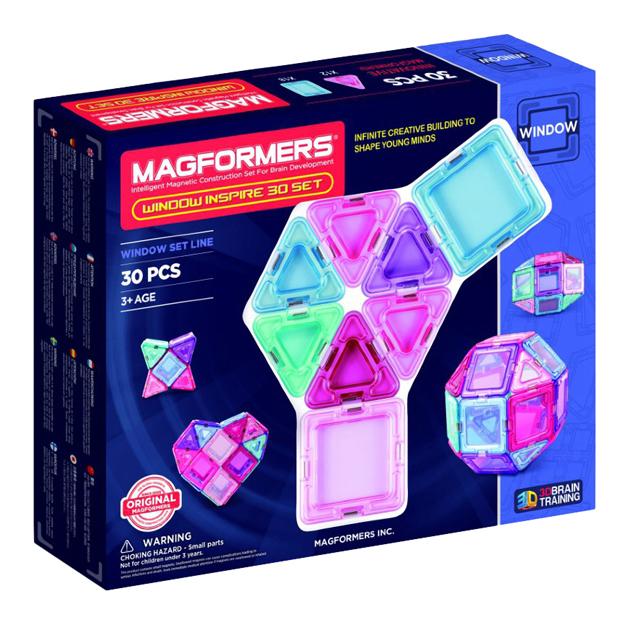Купить Конструктор магнитный Magformers Window Inspire 30 деталей, Магнитные конструкторы