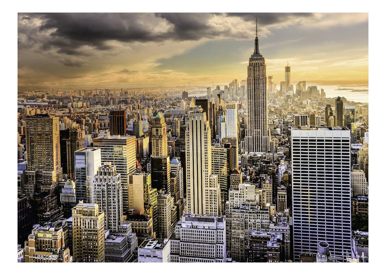 Купить Большой Нью-Йорк, Пазл Ravensburger улица 1000 деталей,