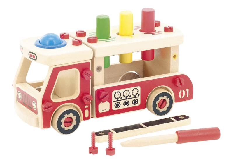 Купить Конструктор деревянный Игрушки из дерева Машина, Мир Деревянных Игрушек, Деревянные конструкторы