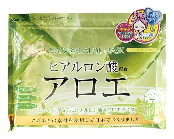 Маска для лица Japan Gals с экстрактом алоэ 30 шт