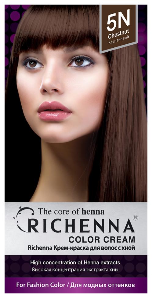 Купить Краска для волос RICHENNA Color Cream 5N Chestnut