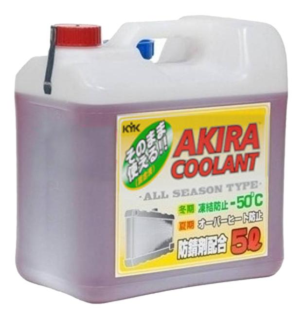 Антифриз AKIRA Coolant Красный Готовый антифриз