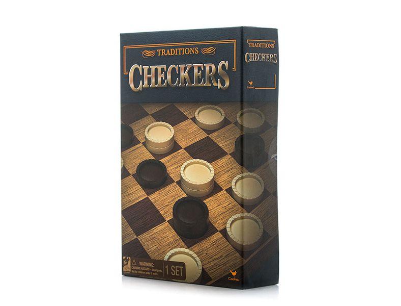 Настольная игра Spin master Классические шашки