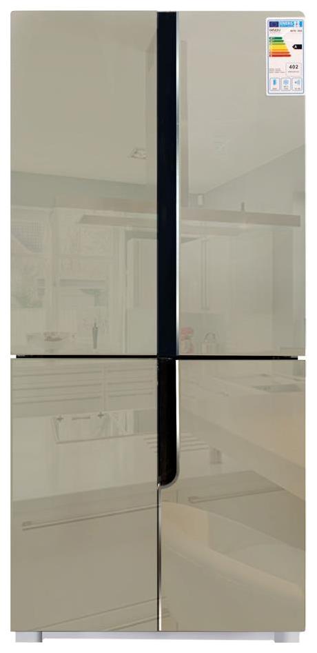 Холодильник Ginzzu NFK 500 Beige