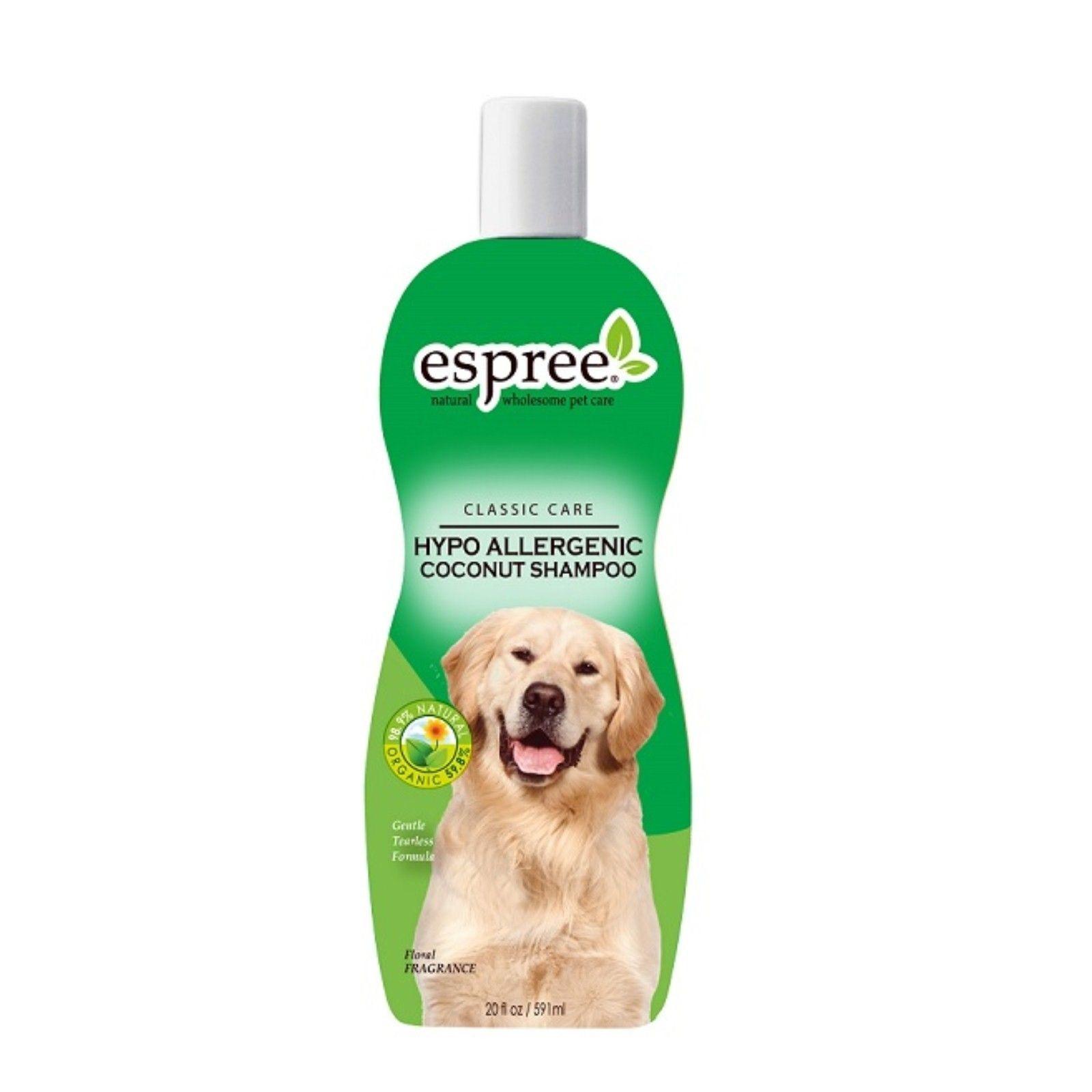 Шампунь для кошек и собак Espree Classic Care Hypo-Allergenic Coconut без слез 355 мл.