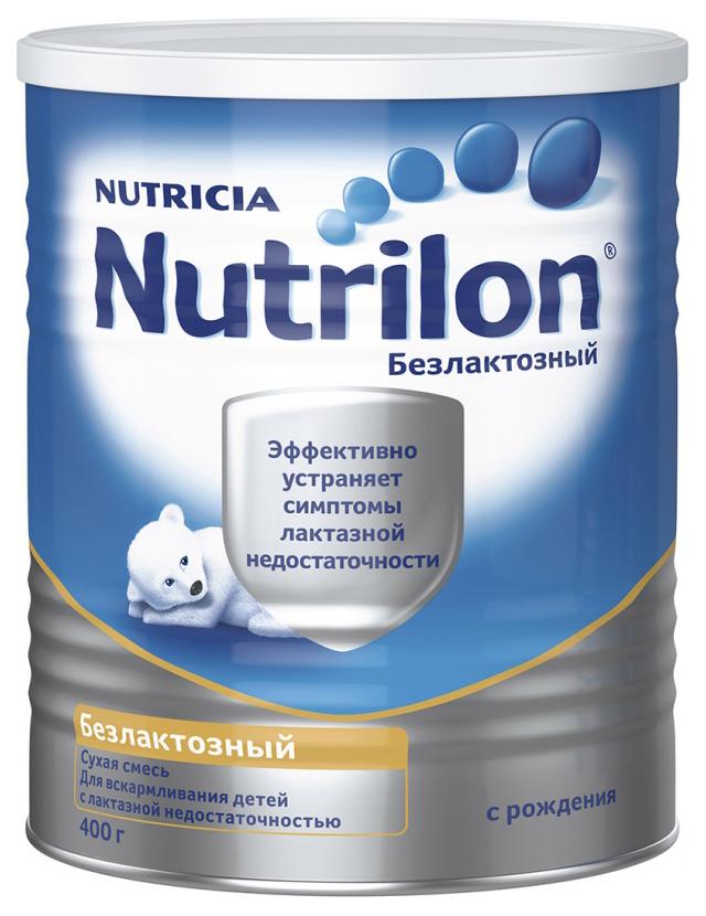 Смесь сухая Nutrilon Безлактозный (с рождения) 400 г
