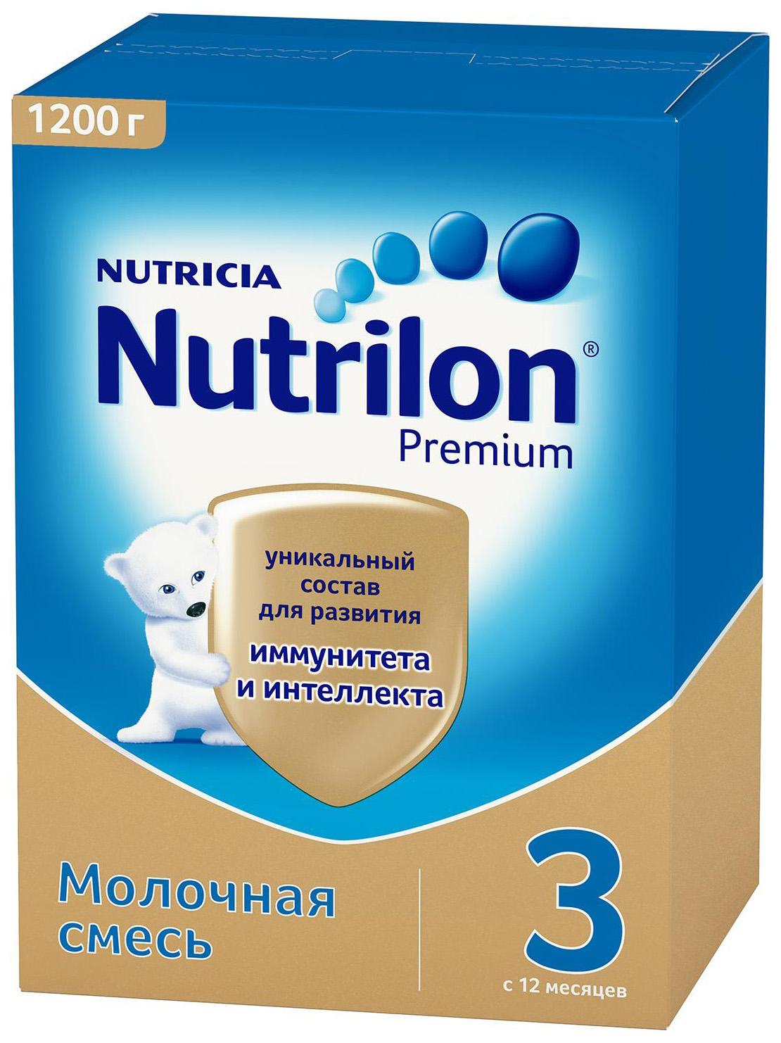 Молочная смесь 3 (от года) Nutrilon Premium 1200 г
