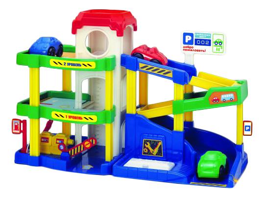 Купить Автогородок Пламенный мотор, Парковка игрушечная Пламенный мотор Автогородок 87528, Детские парковки