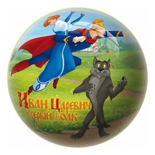 Мяч Unice Иван Царевич и Серый волк 23 см UN 2710