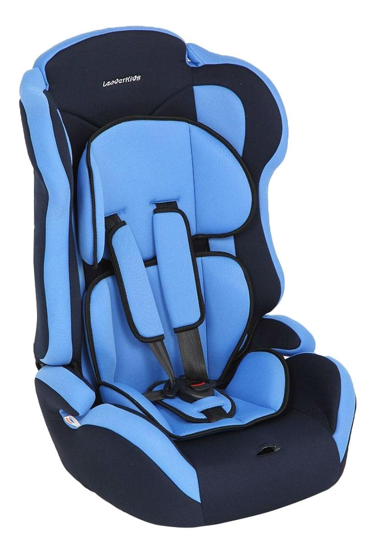 Автокресло Атлантик сине-голубое от 9 до 36 кг Leader Kids