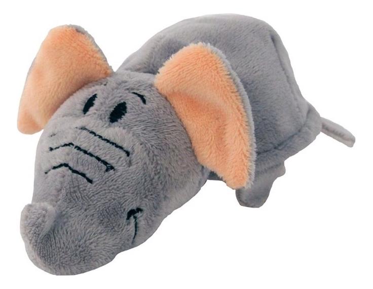 Мягкая игрушка 1 TOY Вывернушка плюшевая Тигр Слон 12 см фото