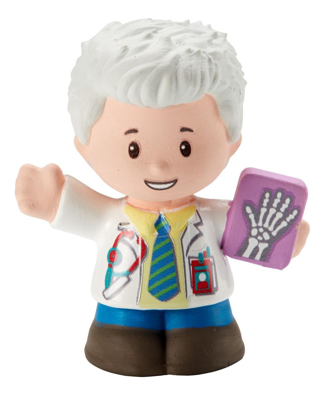 Купить Doctor Nathan, Фигурка Fisher Price Little People Доктор, Fisher-Price,