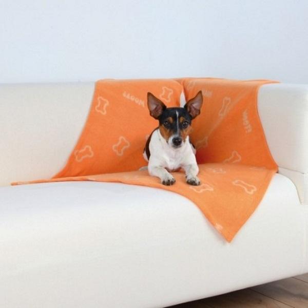 Лежанка для собак TRIXIE оранжевый,  100x150см