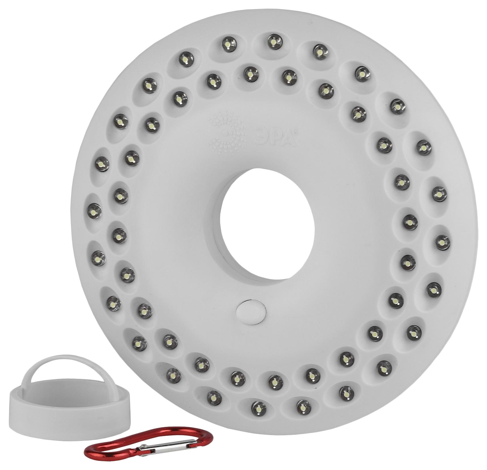 Туристический фонарь Эра НЛО-48 белый, 1 режим