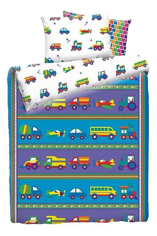 Купить Постельное белье Мона Лиза Машинки 1, 5-спальное, MONA LIZA, Комплекты детского постельного белья