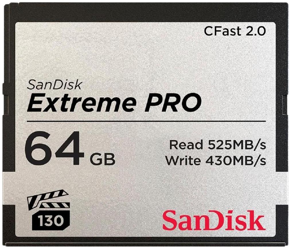 Карта памяти SanDisk Extreme PRO Compact Flash
