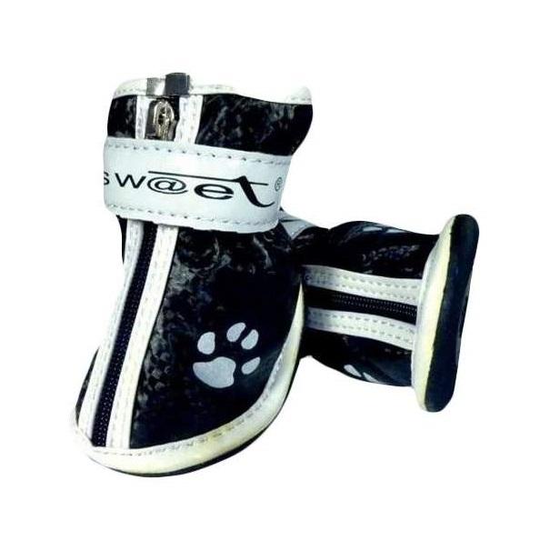 Обувь для собак Triol размер XXS, 4 шт черный