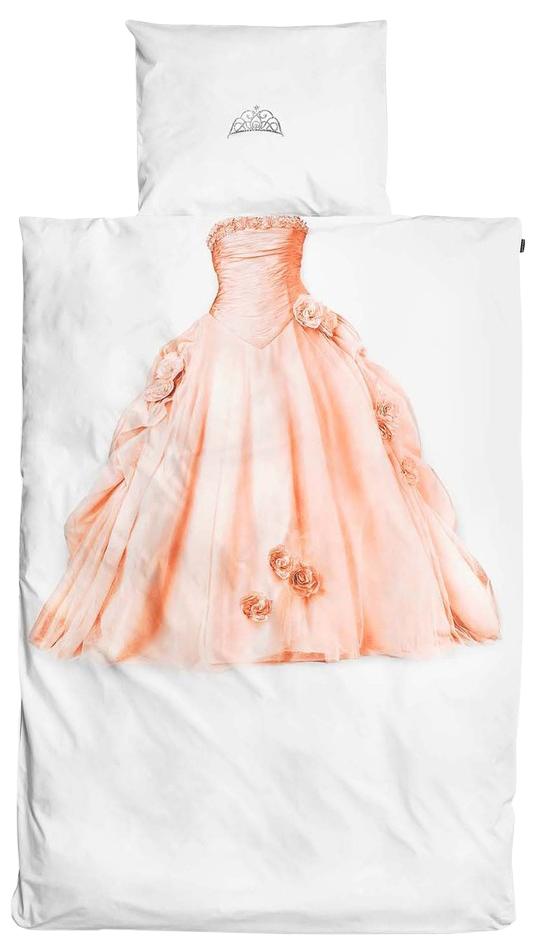 Купить Детское Принцесса (150х200 см), Комплект детского постельного белья Snurk Принцесса, Комплекты детского постельного белья