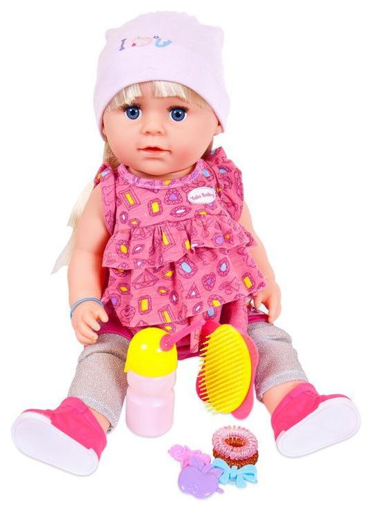 Кукла пьет и писает в наборе с аксессуарами, 45 см