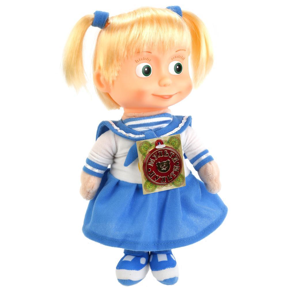 Купить Мягкая игрушка Мульти-Пульти Маша-морячка 29 см пласт, лицо (м/ф маша и медведь),