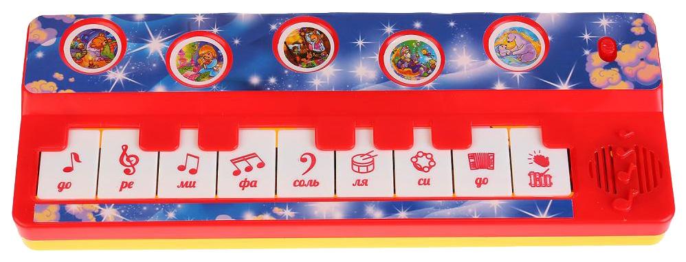 Купить B1517258-R11, Пианино игрушечное Умка 10 колыбельных песен, Детские музыкальные инструменты