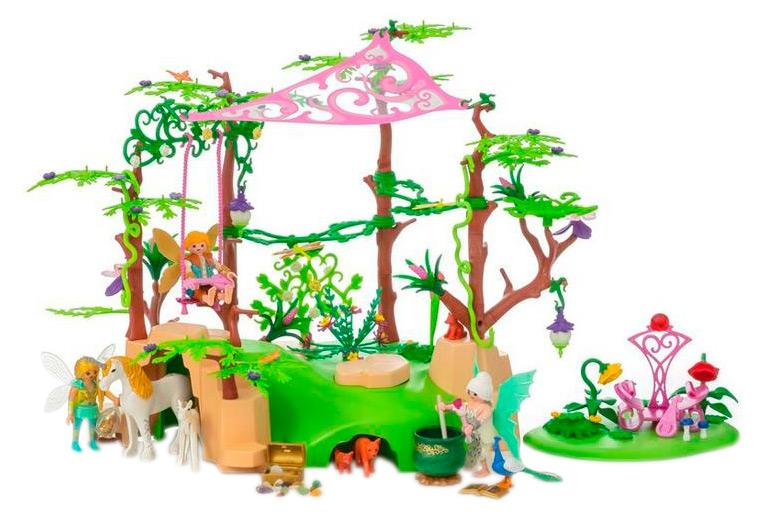 Игровой набор Playmobil Феи Лес волшебной феи 9132
