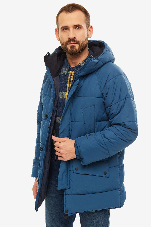 Зимняя куртка мужская Barbour MQU1123 BL55 синяя M