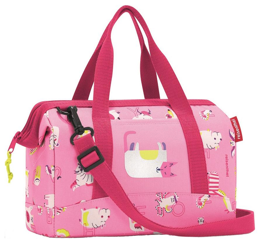 Купить Сумка детская Allrounder XS ABC friends pink Reisenthel для девочек Розовый IQ3066, Детские сумки
