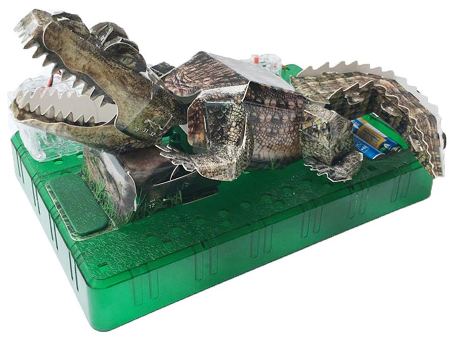 Конструктор электронный ND Play Крокодил NDP 049