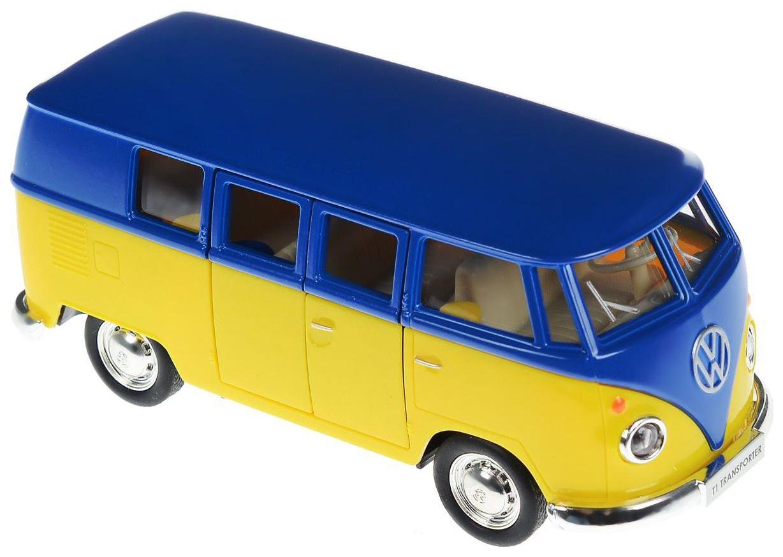 Купить Автобус инерционный RMZ City 1:32 Volkswagen Type 2 554025M(G) UNI-FORTUNE, Городской транспорт