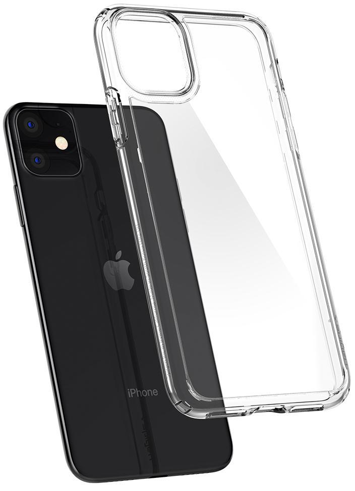 Чехол Spigen Crystal Hybrid 076CS27086 для iPhone 11 Clear