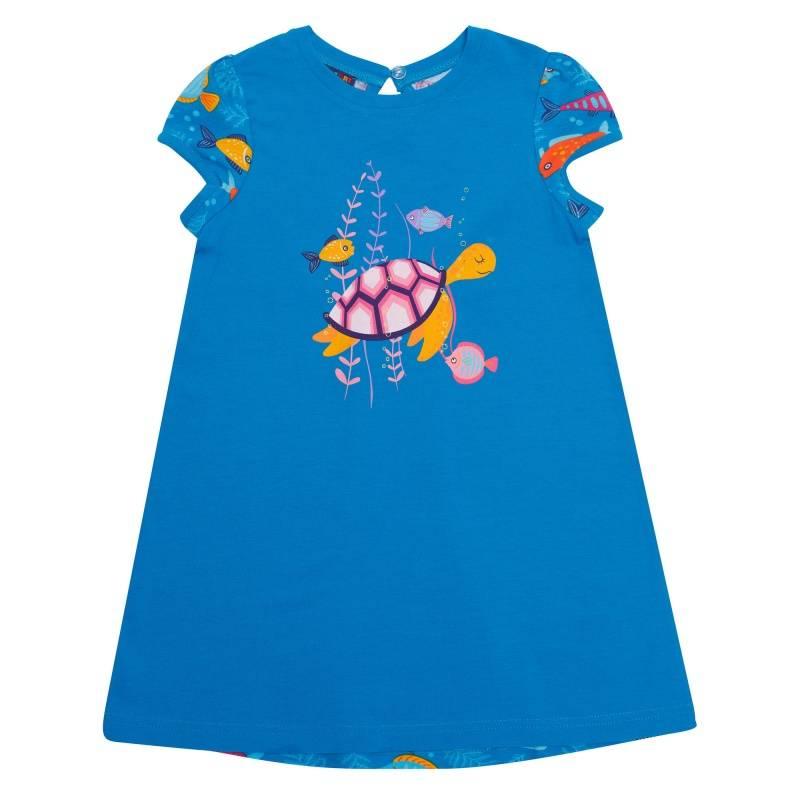 Купить Платье Chinzari, цв. голубой, 122 р-р, Детские платья и сарафаны
