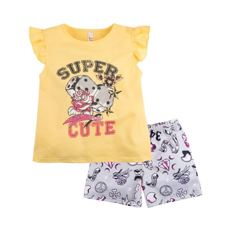 Купить Пижама Тату Bossa Nova, цв. желтый, 116 р-р, Детские пижамы