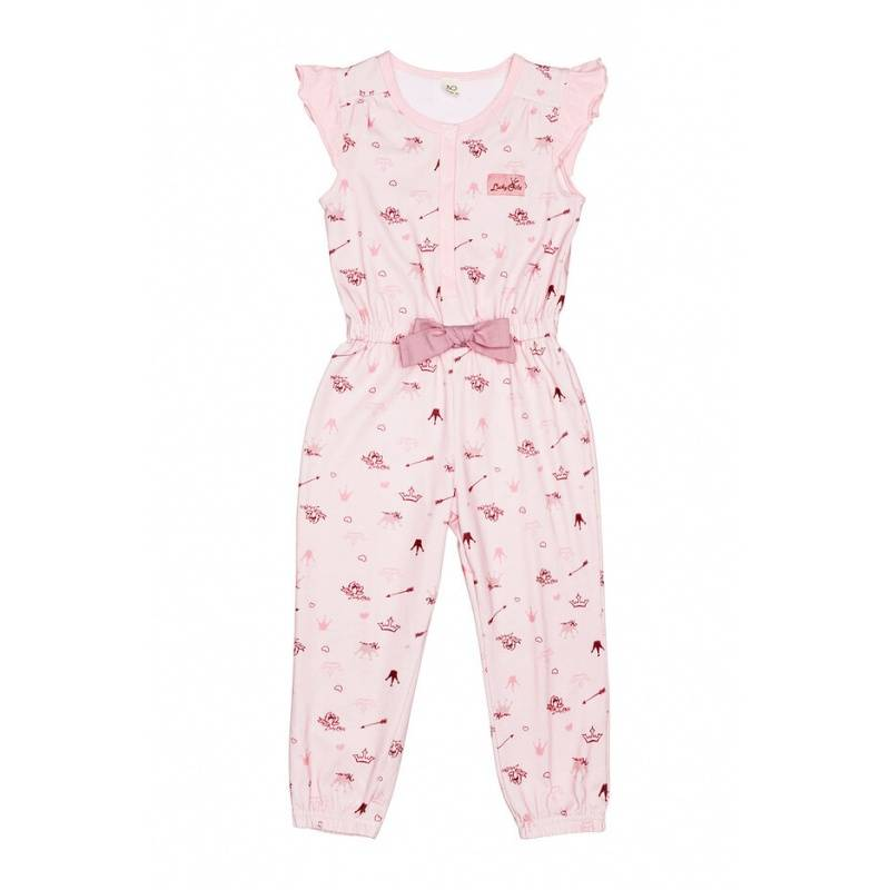 Купить 45-30К, Комбинезон Lucky Child, цв. розовый, 104 р-р, Повседневные комбинезоны для девочек