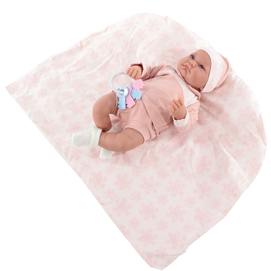 Кукла Antonio Juan Антония в розовом 40 см