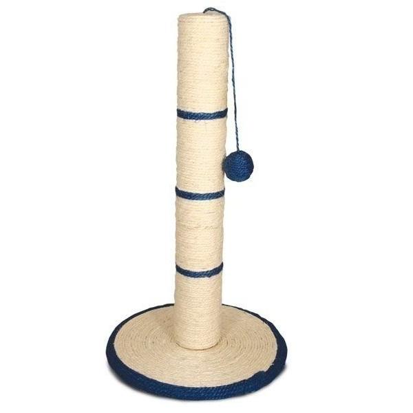 Когтеточка Triol с шариком, сизаль, 35 х 35 x 62 см