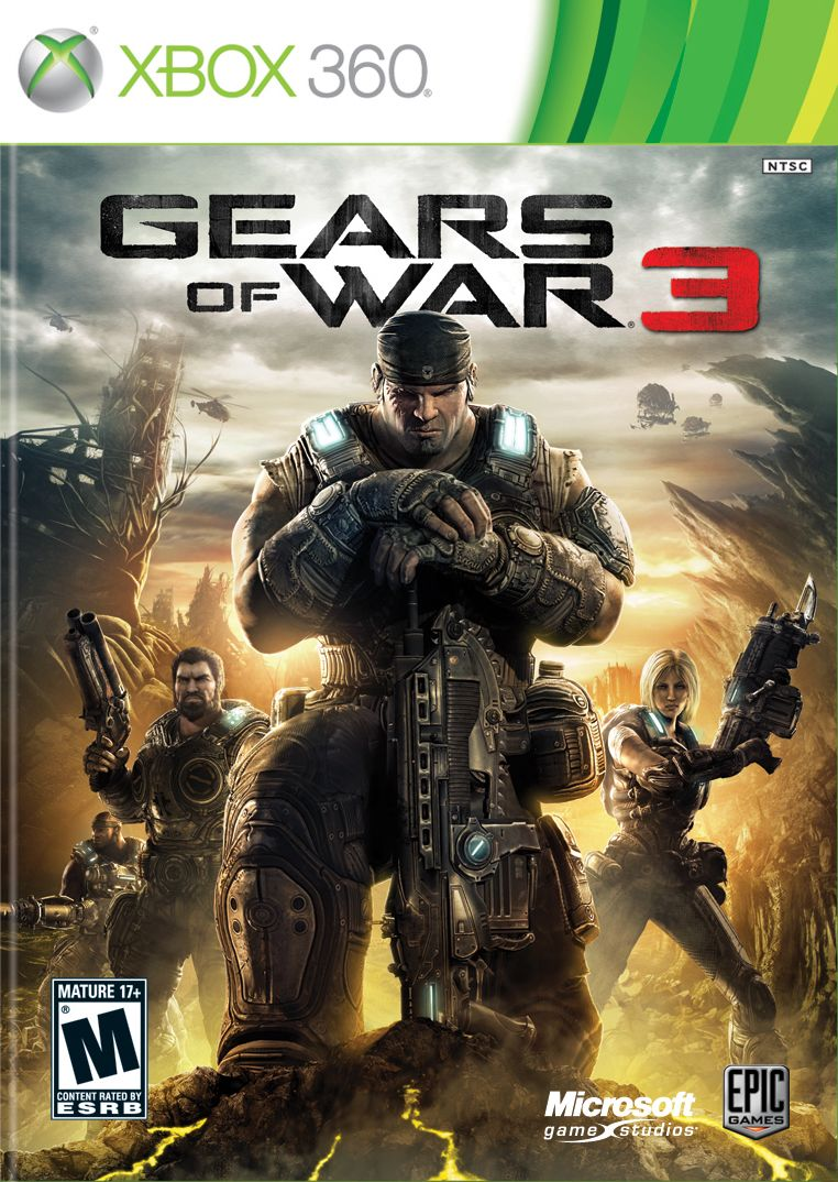 Игра Gears Of War 3 для Xbox