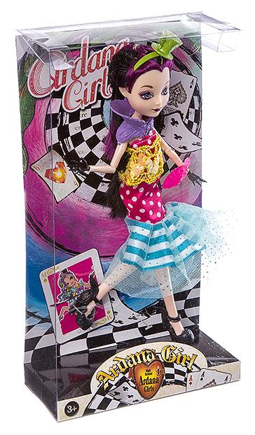 Кукла Ardana Girl яркий образ, ВОХ, 4 вида, арт. DH2093/2/3/4/5.