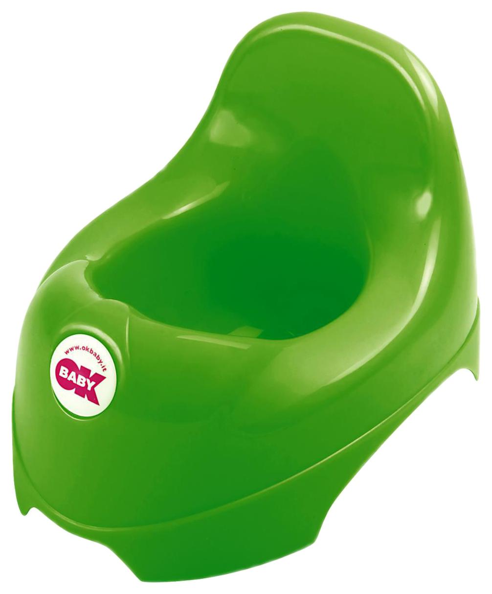 Купить Горшок детский Ok Baby Relax зеленый, Горшки детские
