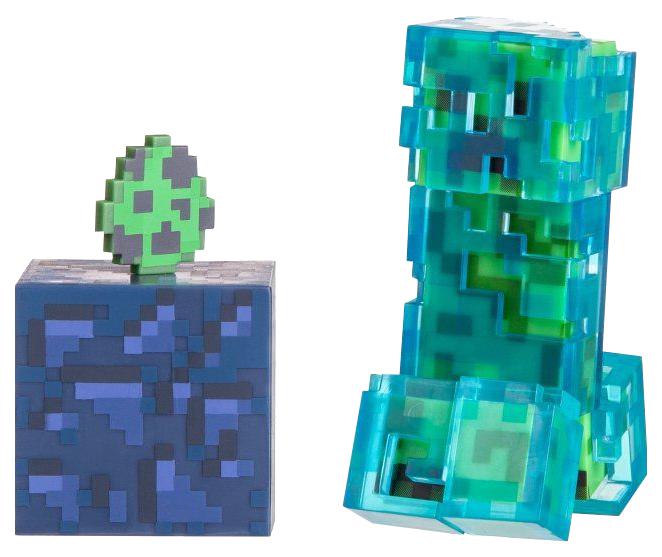 Купить Minecraft 16476 Майнкрафт фигурка Charged Creeper, Игровые наборы