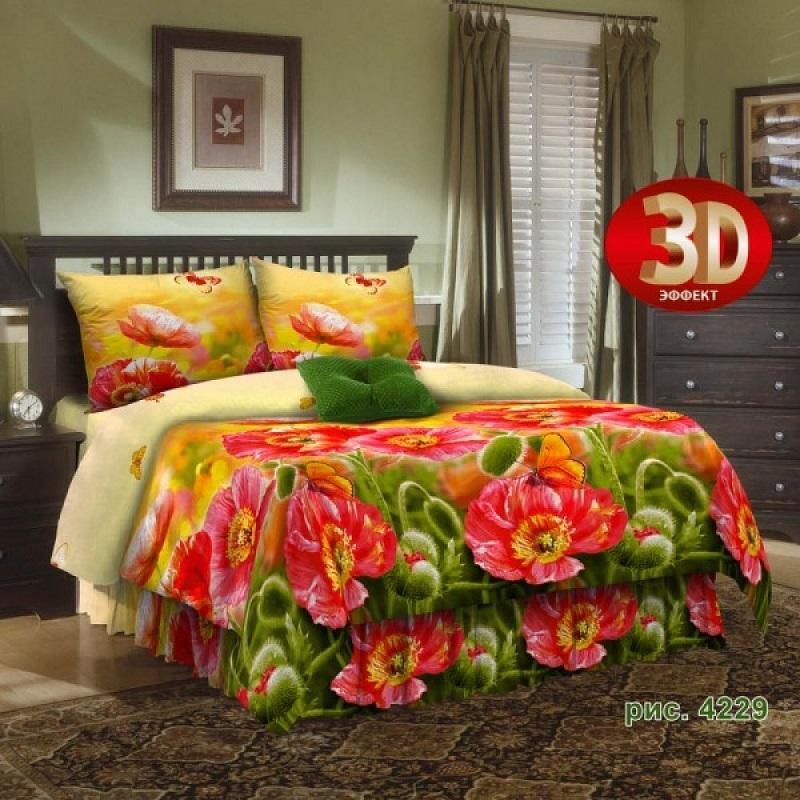 Комплект постельного белья Avrora Texdesign БязьЛюкс 4229, евро