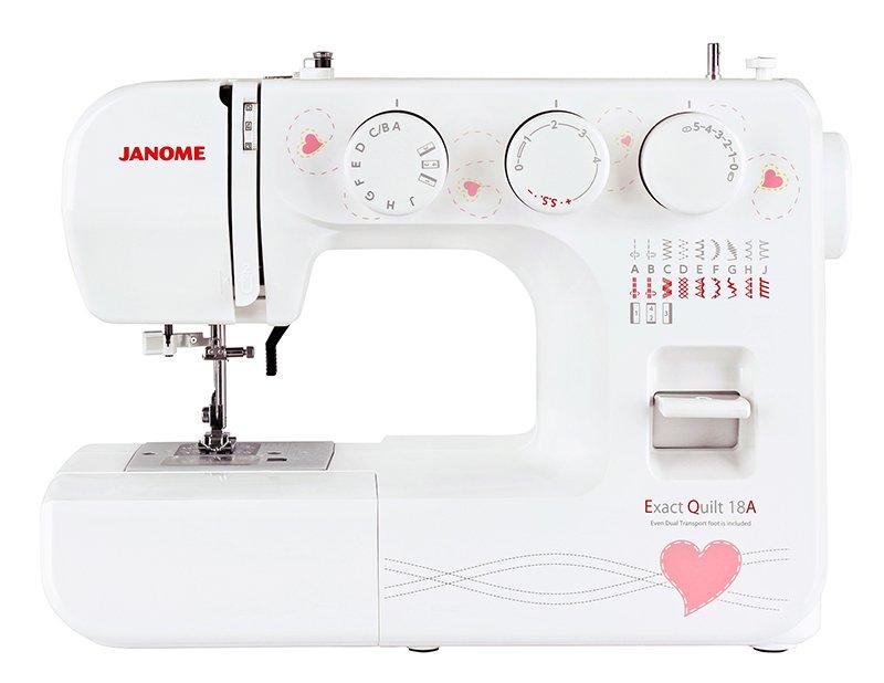 Швейная машина JANOME Exact Quilt 18A